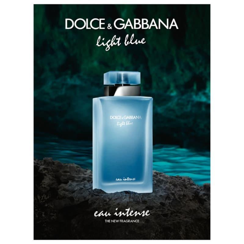 f956e870439b Light Blue Eau Intense Dolce   Gabbana Eau de Toilette - Perfume Feminino  100ml