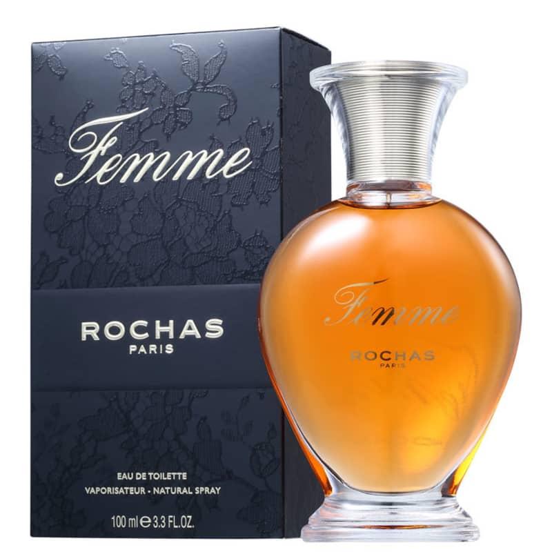 Femme Rochas Eau de Toilette - Perfume Feminino   Beleza na Web 379edc962b