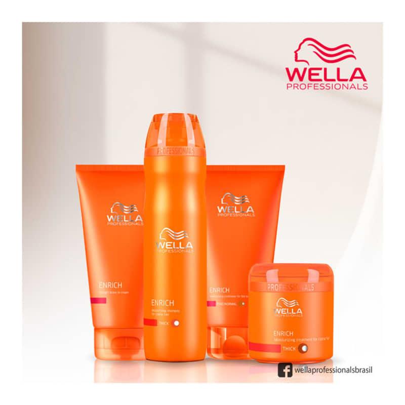 0a639995d Kit Wella Professionals Enrich Warm 3 Produtos | Beleza na Web