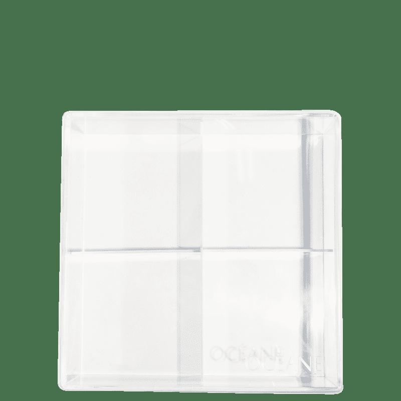 Caixa organizadora em acrílico com divisórias 3mm
