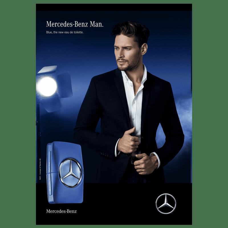 e989bf3286 Mercedes-Benz Man Blue Eau de Toilette - Perfume Masculino 100ml. ‹ ›