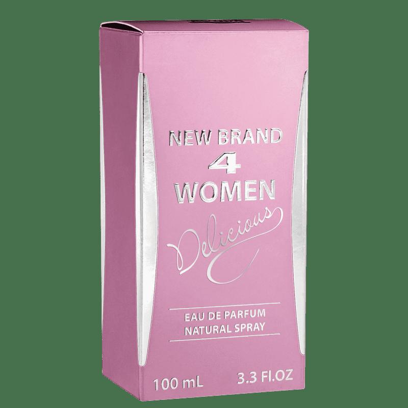 4 Women Delicious New Brand Eau de Parfum - Perfume Feminino 100ml 3c0bea3442