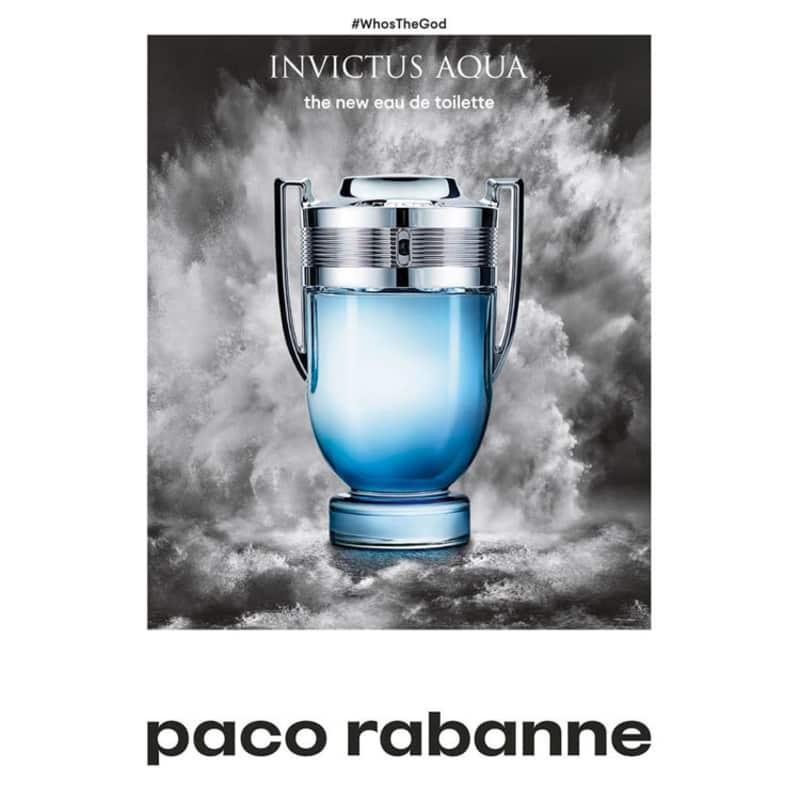 465f3ad044 Invictus Aqua Paco Rabanne Eau de Toilette - Perfume Masculino 100ml
