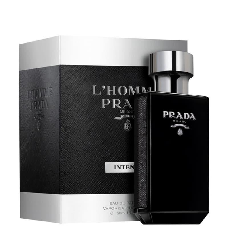 f4a6e73c16f31 L Homme Intense Prada Eau de Parfum - Perfume Masculino 50ml