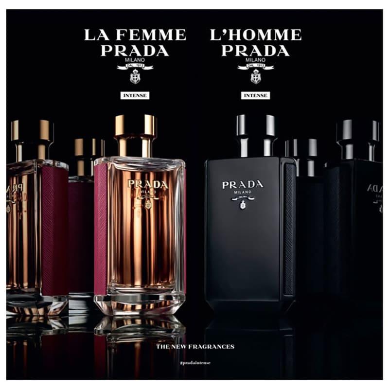 326dedb24e15c L Homme Intense Prada Eau de Parfum - Perfume Masculino 50ml. ‹ ›