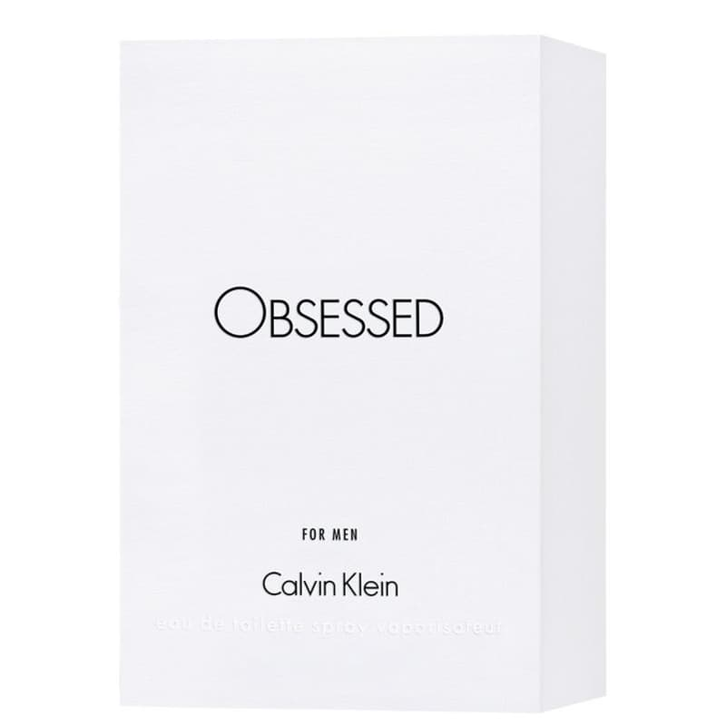 e350fe17ca16f Obsessed For Men Calvin Klein Eau de Toilette - Perfume Masculino 125ml