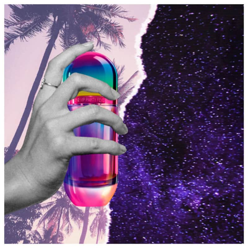 212 VIP Party Fever Carolina Herrera Eau de Toilette - Perfume Feminino 80ml 526f38fd3f