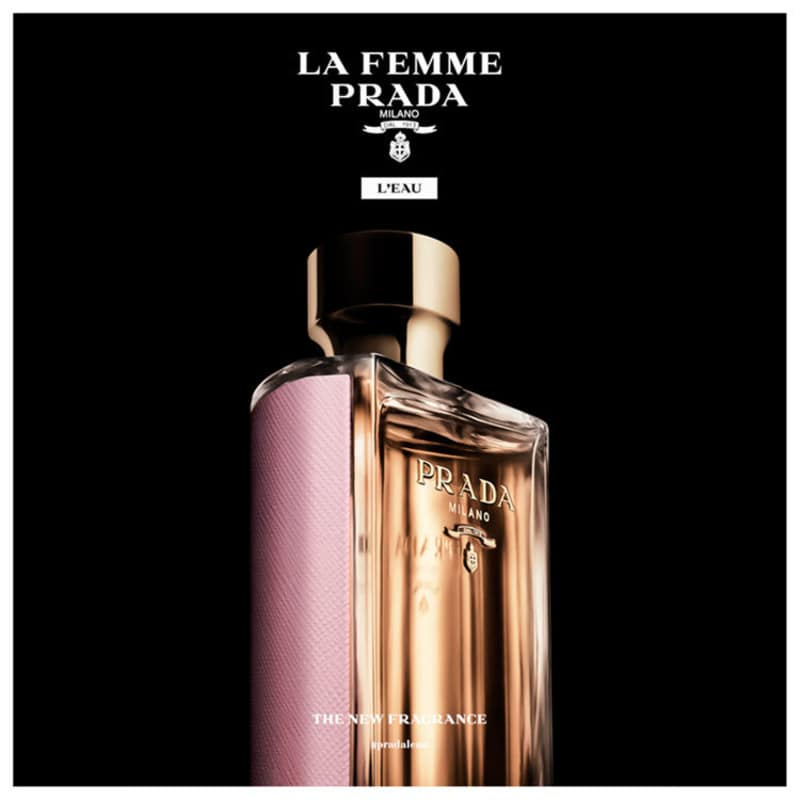 La Femme L Eau Prada Eau de Toilette - Perfume Feminino 100ml. ‹ › 6fba71ce53