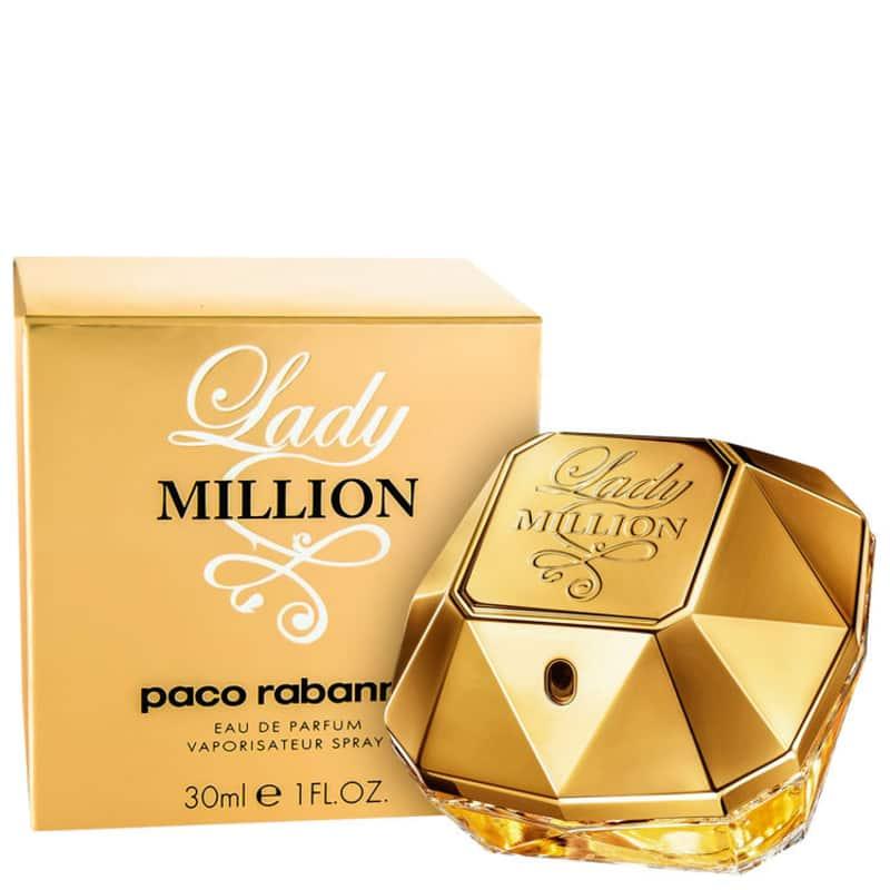 cfc2f8d1cb Lady Million Paco Rabanne Eau de Parfum - Perfume Feminino 30ml