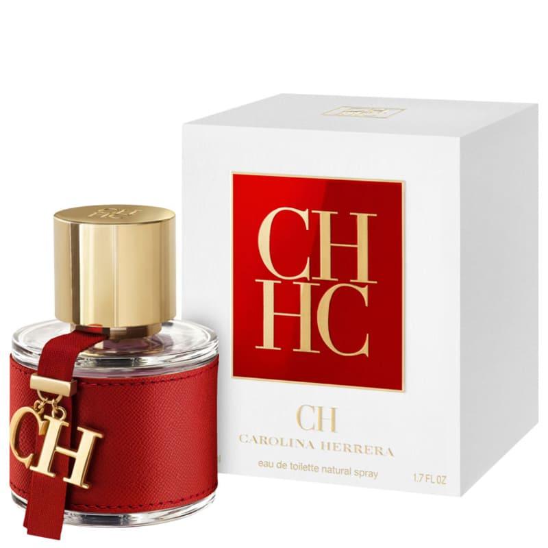114781b301 CH Carolina Herrera Eau de Toilette - Perfume Feminino 50ml
