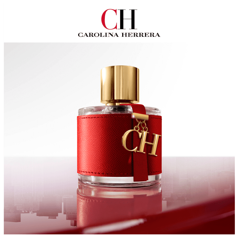 99ba6b88d2 CH Carolina Herrera Eau de Toilette - Perfume Feminino 50ml