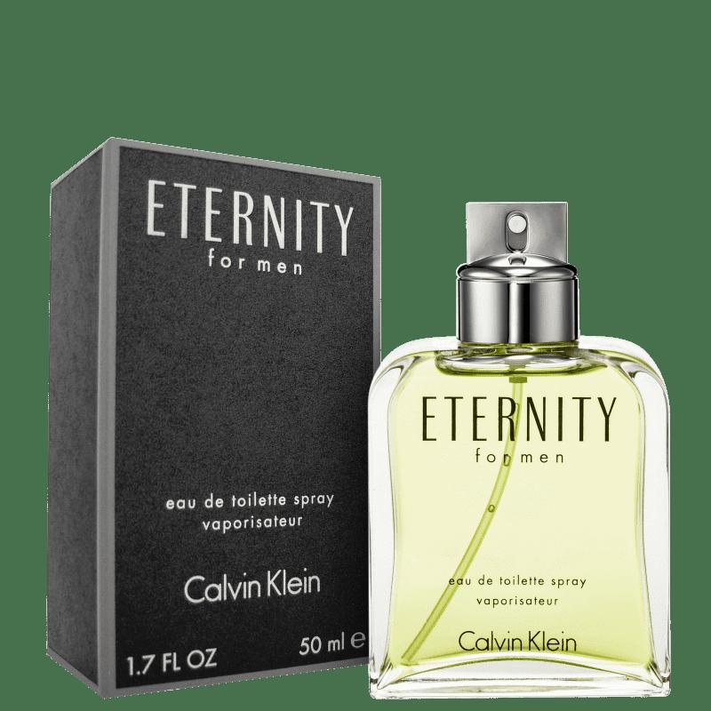 3c6308c1e219a Eternity For Men Calvin Klein Eau de Toilette - Perfume Masculino 50ml