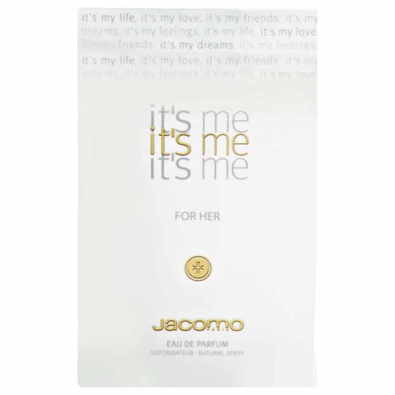 b1847cb89b Jacomo Perfume Feminino It s Me for Her - Eau de Parfum 50ml. ‹ ›
