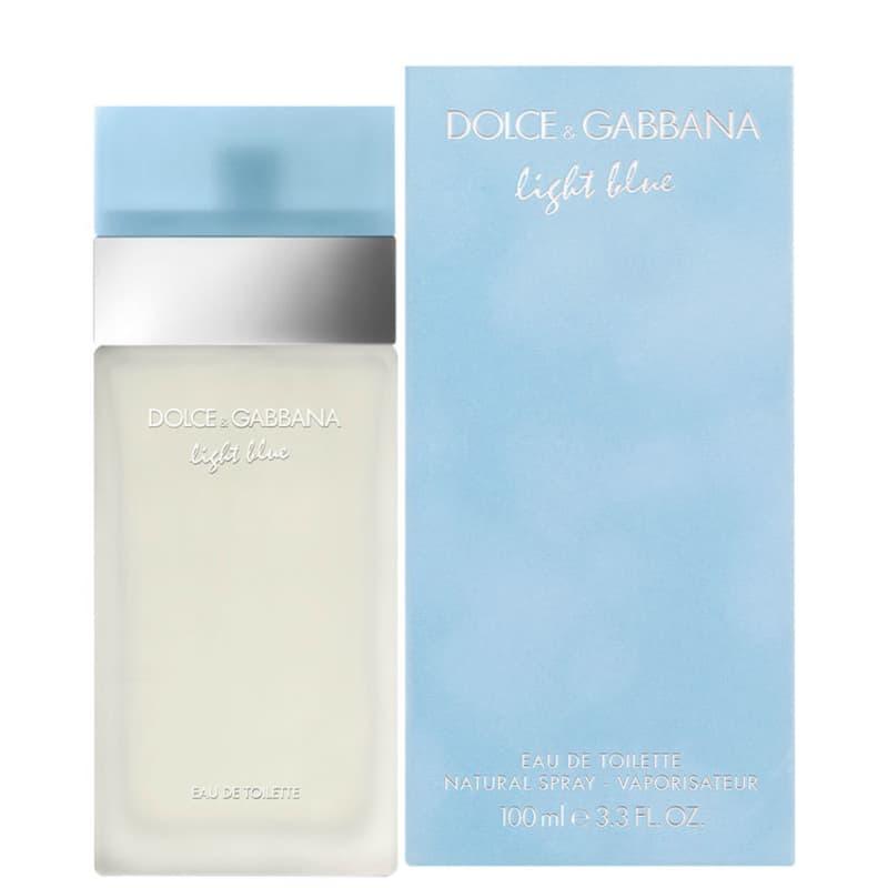 Light Blue Dolce   Gabbana Eau de Toilette - Perfume Feminino 100ml 92a16c1093