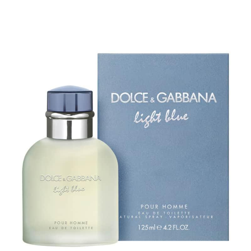 3990e3367ac2e Light Blue Pour Homme Dolce   Gabbana Eau de Toilette - Perfume Masculino  125ml