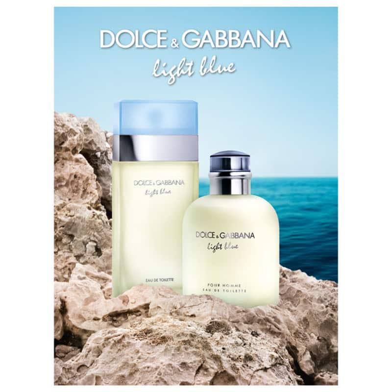 512c6500bf6eb Light Blue Pour Homme Dolce   Gabbana Eau de Toilette - Perfume Masculino  125ml