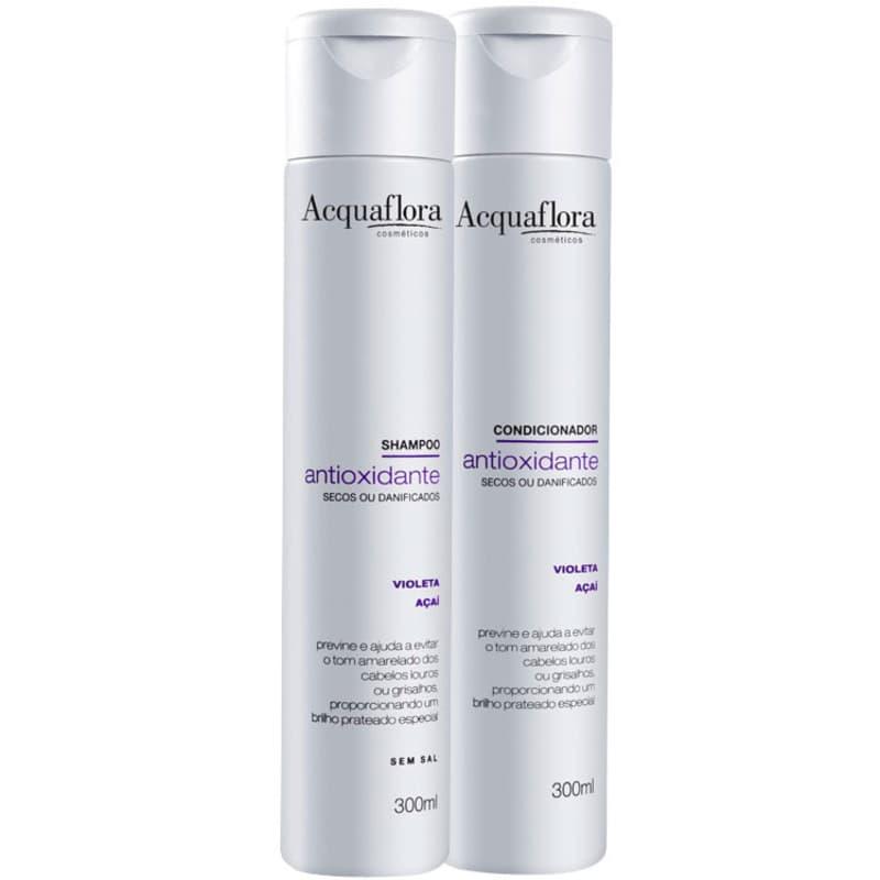 Kit Acquaflora Antioxidante Secos ou Danificados Duo (2 Produtos)
