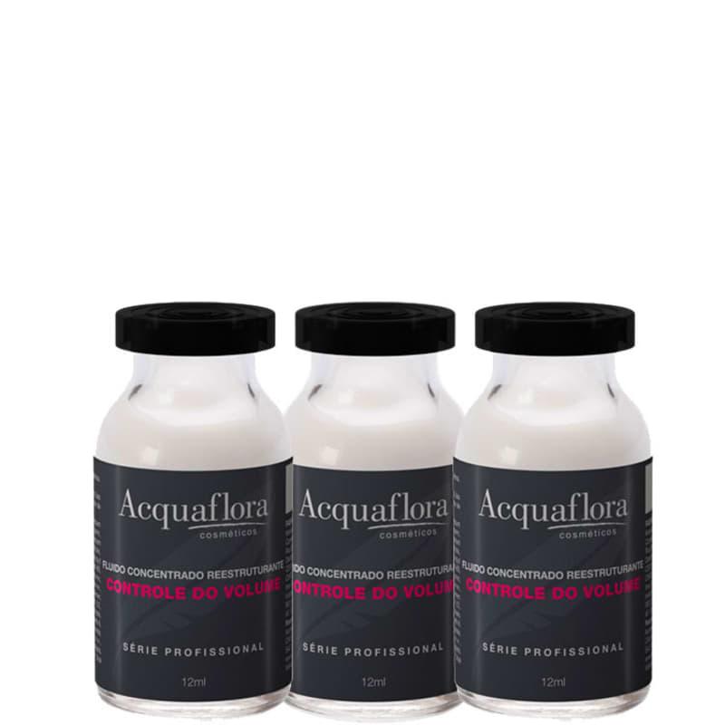 Acquaflora Controle do Volume - Ampola Capilar 3x14ml