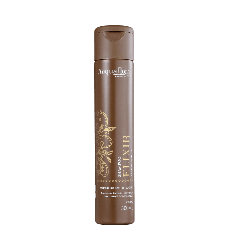 Acquaflora Elixir Normais ou Mistos - Shampoo sem Sal 300ml