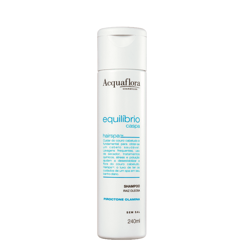Acquaflora Equilíbrio Caspa Raiz Oleosa - Shampoo Anticaspa 240ml