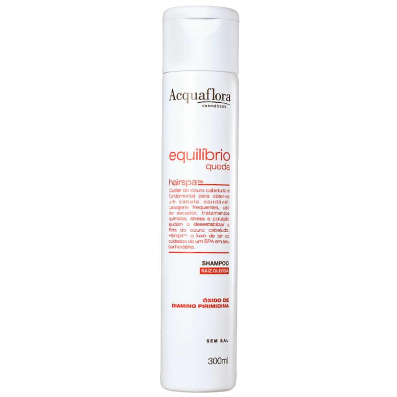 Acquaflora Equilíbrio Queda Raiz Oleosa - Shampoo Antiqueda 300ml