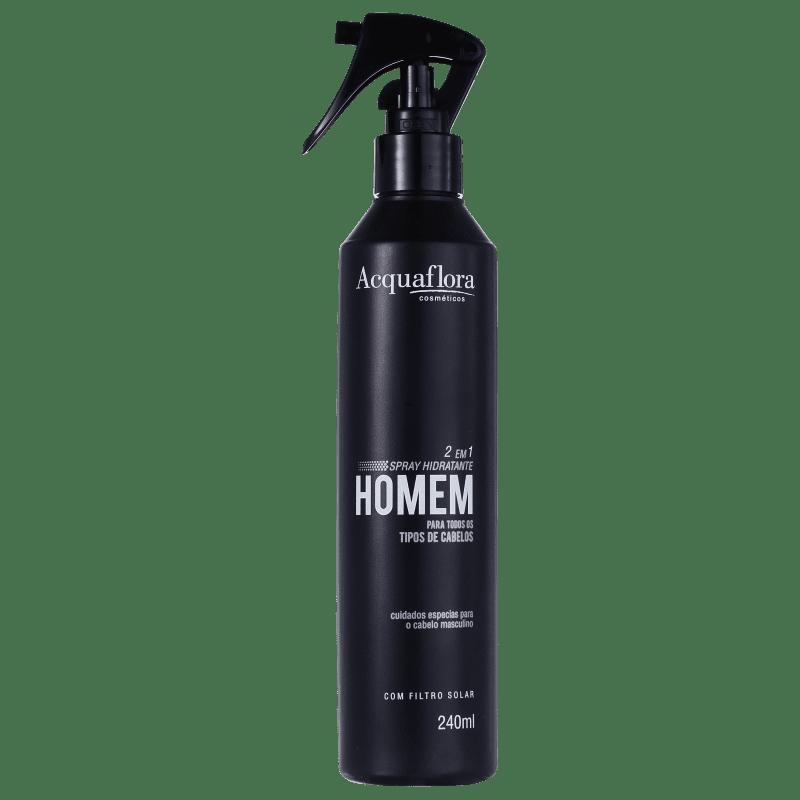 Acquaflora Homem 2 Em 1 - Spray Leave-in 240ml