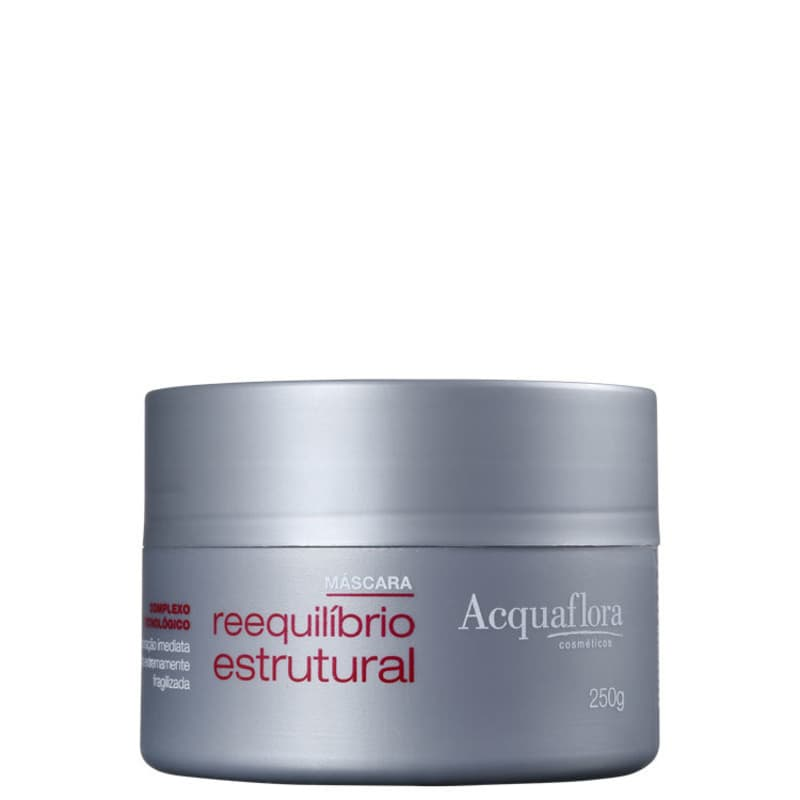 Acquaflora Reequilíbrio Estrutural - Máscara Capilar 250g