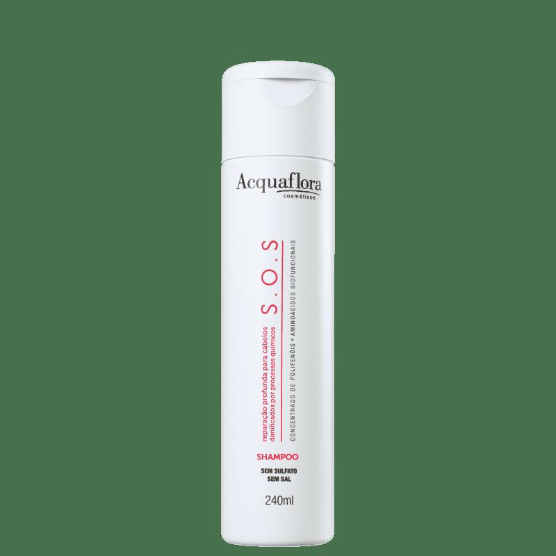 Acquaflora SOS Reparação Profunda - Shampoo sem Sulfato 240ml