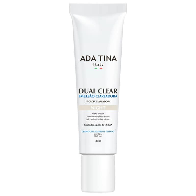 Ada Tina Dual Clear Night - Emulsão Clareadora de Manchas 30ml