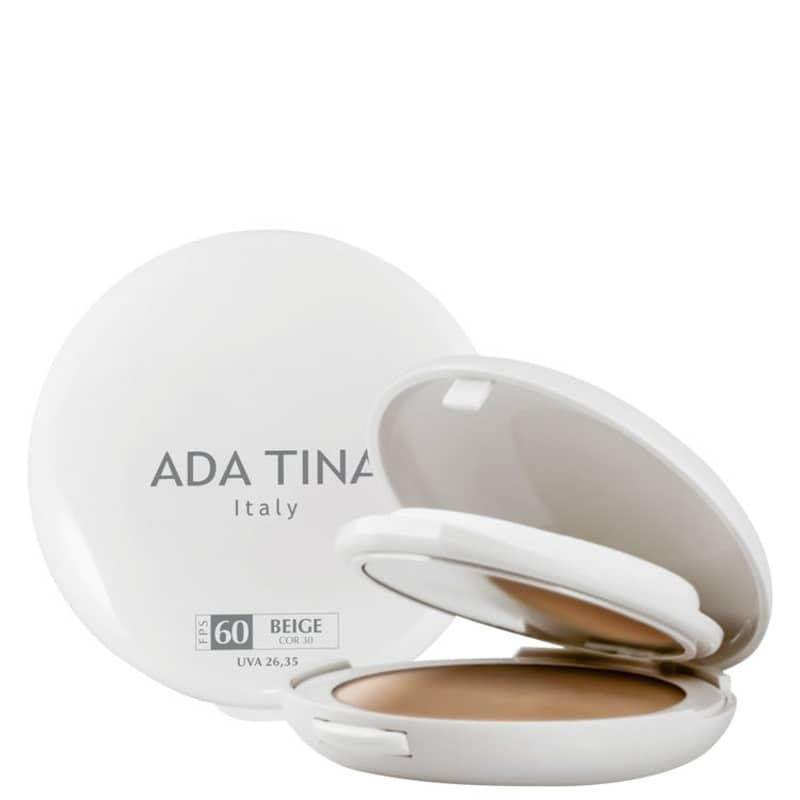 Ada Tina Normalize FT Compatto Beige FPS 60 - Protetor Solar com Cor