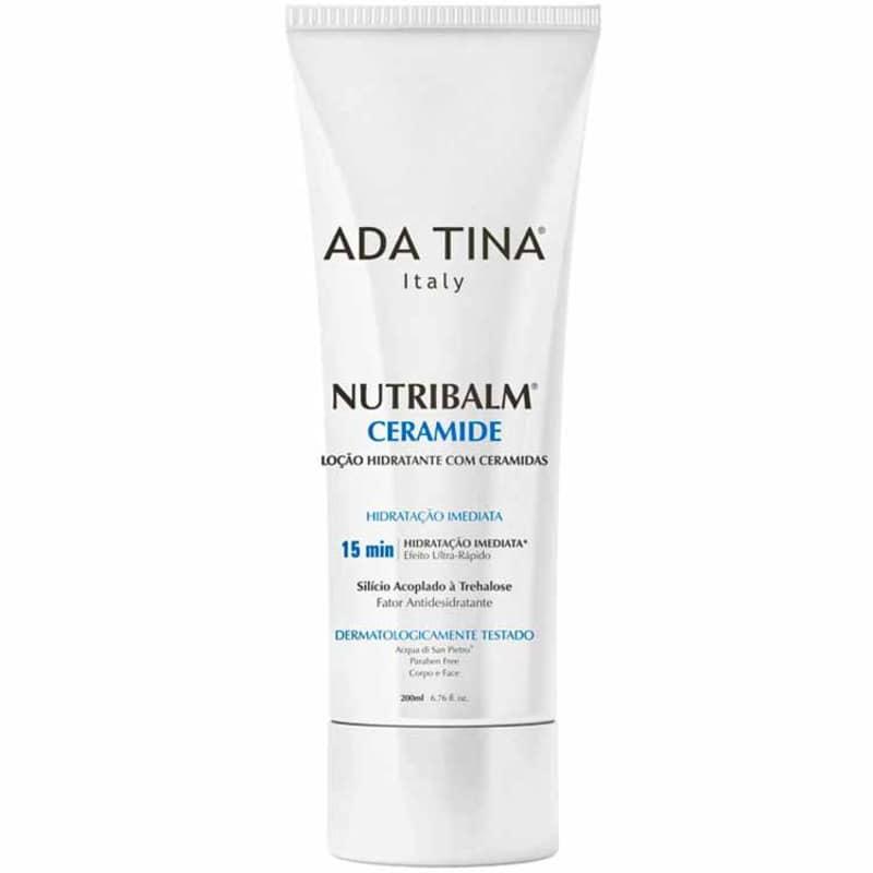 Ada Tina Nutribalm Ceramide - Creme Hidratante Facial 200ml