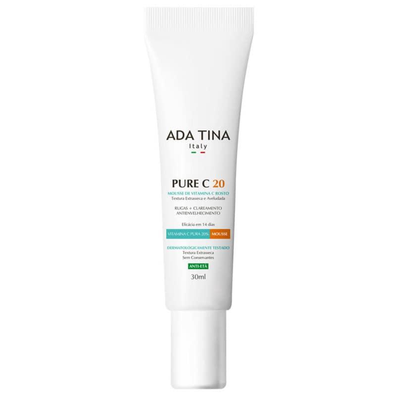 Ada Tina Pure C 20 - Mousse Anti-Idade 30ml