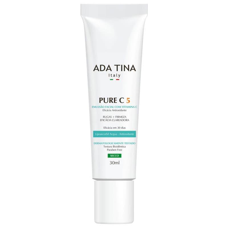 Ada Tina Pure C 5 - Emulsão Anti-Idade 30ml