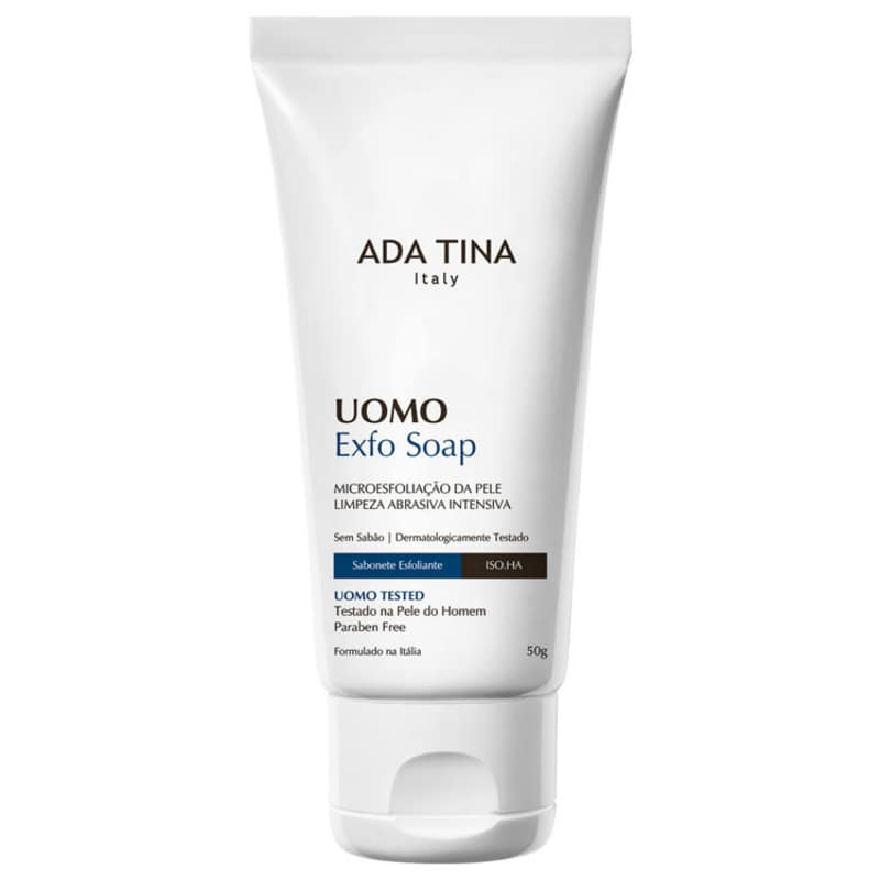 Ada Tina Uomo Exfo Soap - Sabonete Líquido Esfoliante 50g