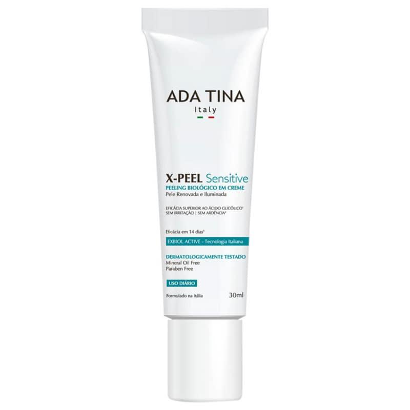 Ada Tina X-Peel Sensitive - Creme Anti-idade Clareador 30ml