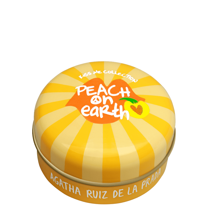 Agatha Ruiz de La Prada Kiss Me Collection Peach On Earth Transparente - Brilho Labial 15g