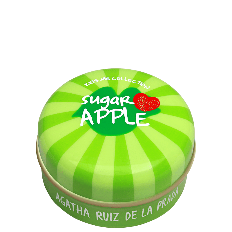 Agatha Ruiz de La Prada Kiss Me Collection Sugar Apple Transparente - Brilho Labial 15g