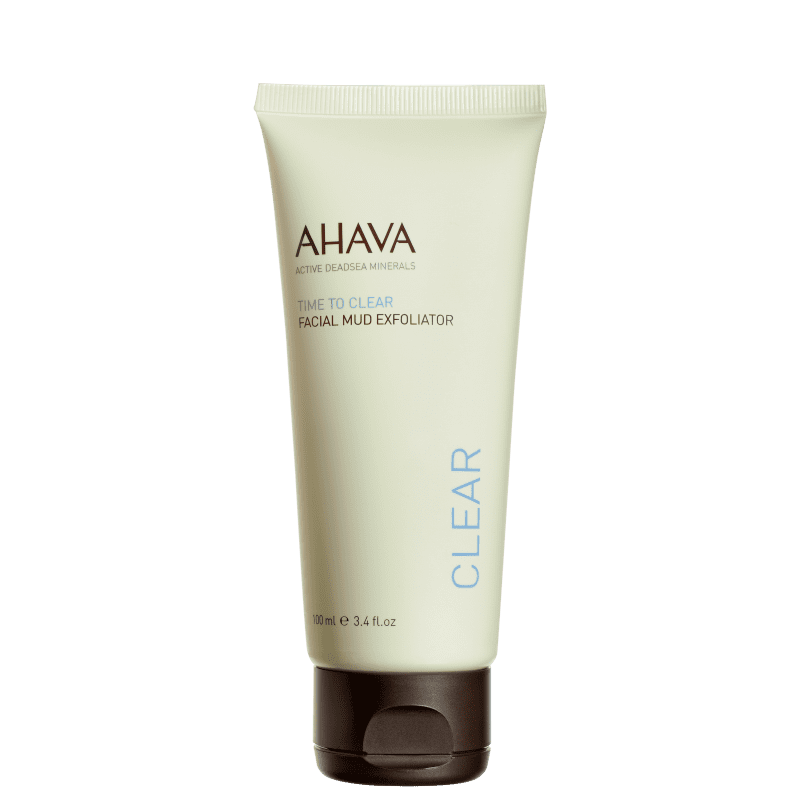 Ahava Time To Clear Facial Mud - Esfoliante Facial 100ml