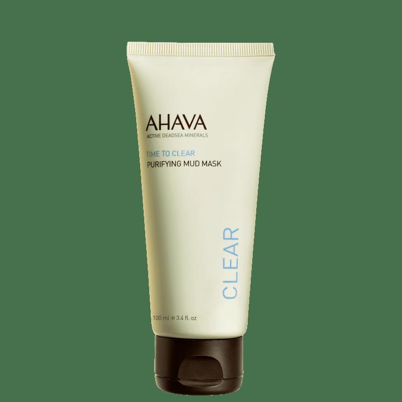 Ahava Time To Clear Purifying Mud - Máscara de Limpeza Facial 100ml