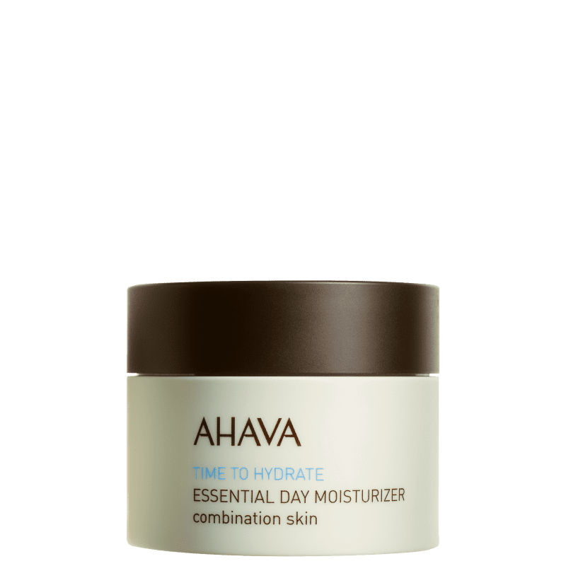 Ahava Time To Hydrate Essencial Day Moisturizer Combination Skin - Creme Hidratante Facial 50ml