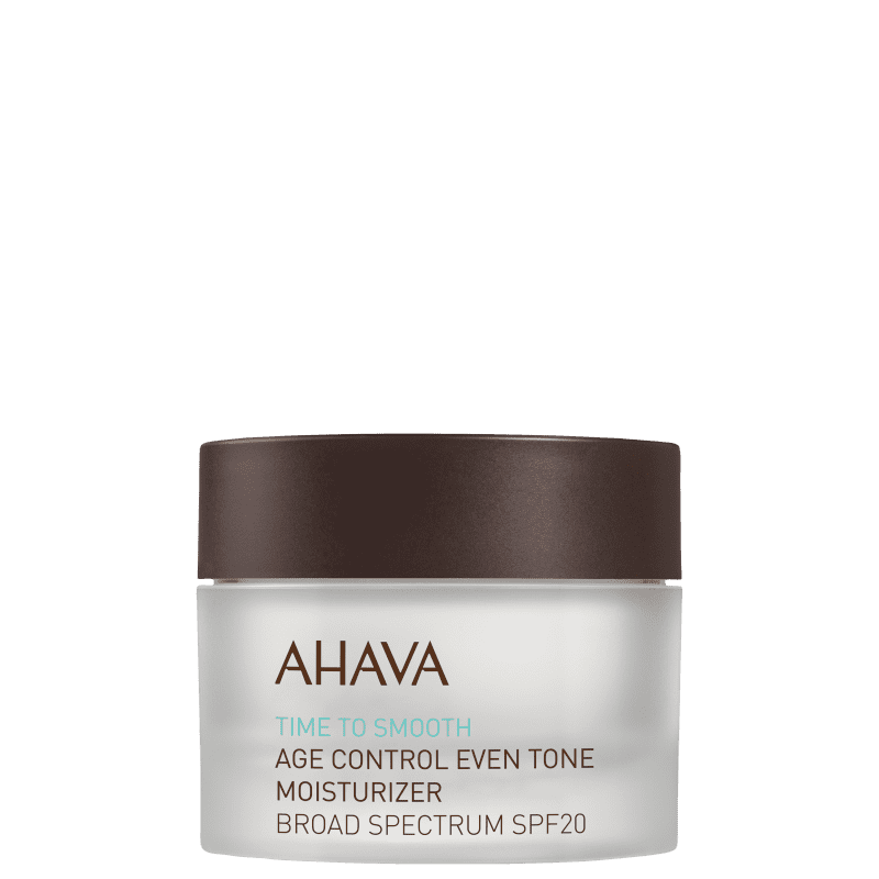 Ahava Time To Smooth Age Control Even Tone FPS 20 -  Creme Anti-Idade Hidratante 50ml