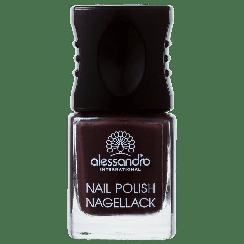 Alessandro International Nail Polish Black Cherry - Esmalte Cremoso 10ml