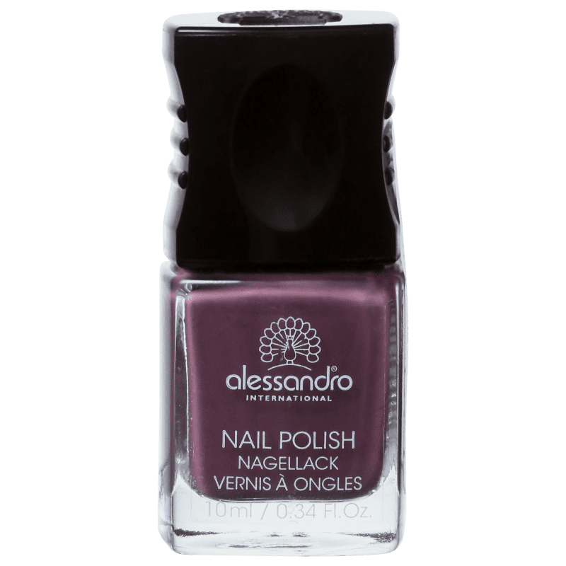 Alessandro International Nail Polish Dusty Purple - Esmalte Cremoso 10ml