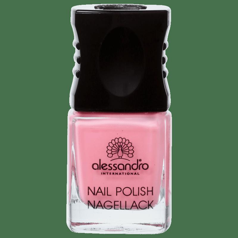 Alessandro International Nail Polish Happy Pink - Esmalte Cremoso 10ml