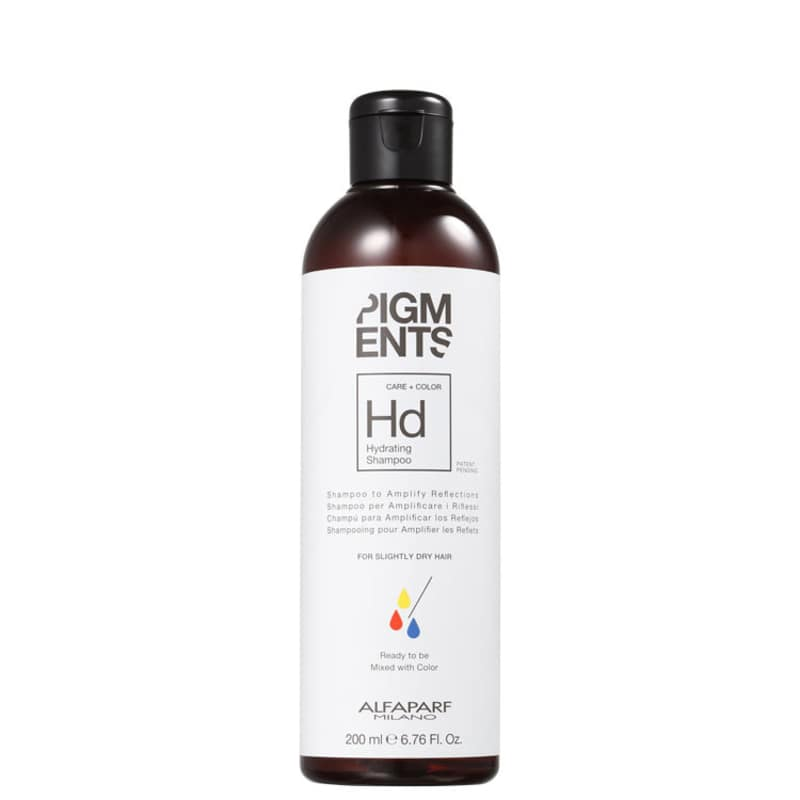 Alfaparf Pigments Care + Color Hydrating - Shampoo sem Sulfato 200ml