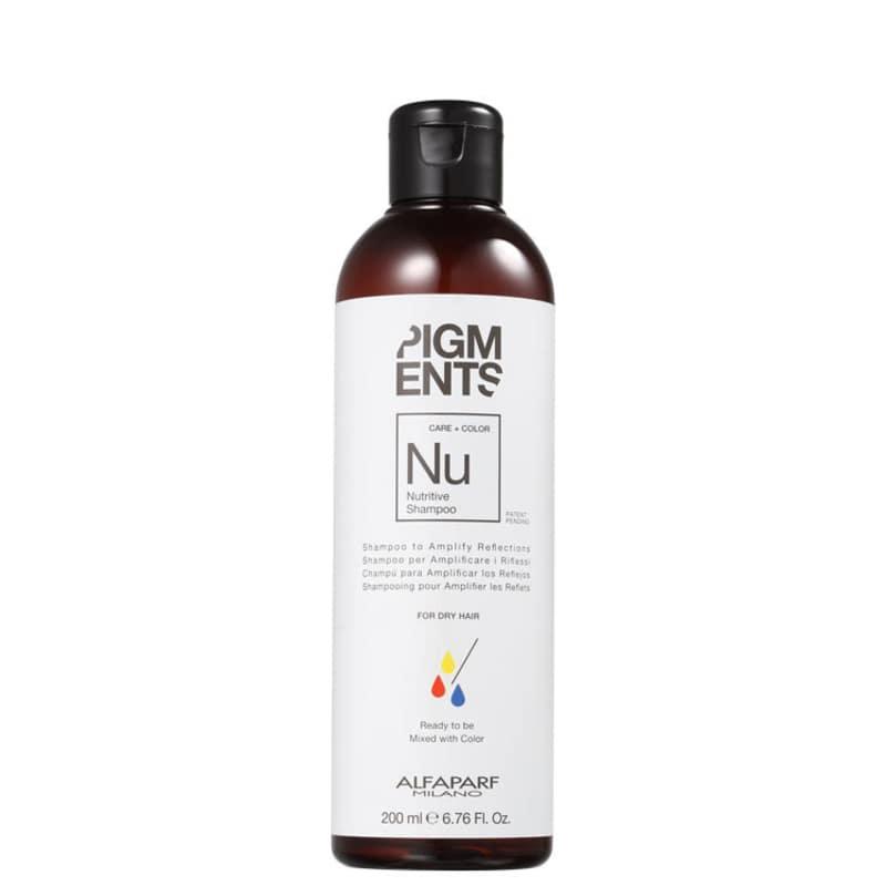 Alfaparf Pigments Care + Color Nutritive - Shampoo sem Sulfato 200ml