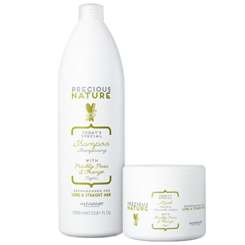 Kit Alfaparf Precious Nature Prickly Pear & Orange Salon Duo (2 Produtos)