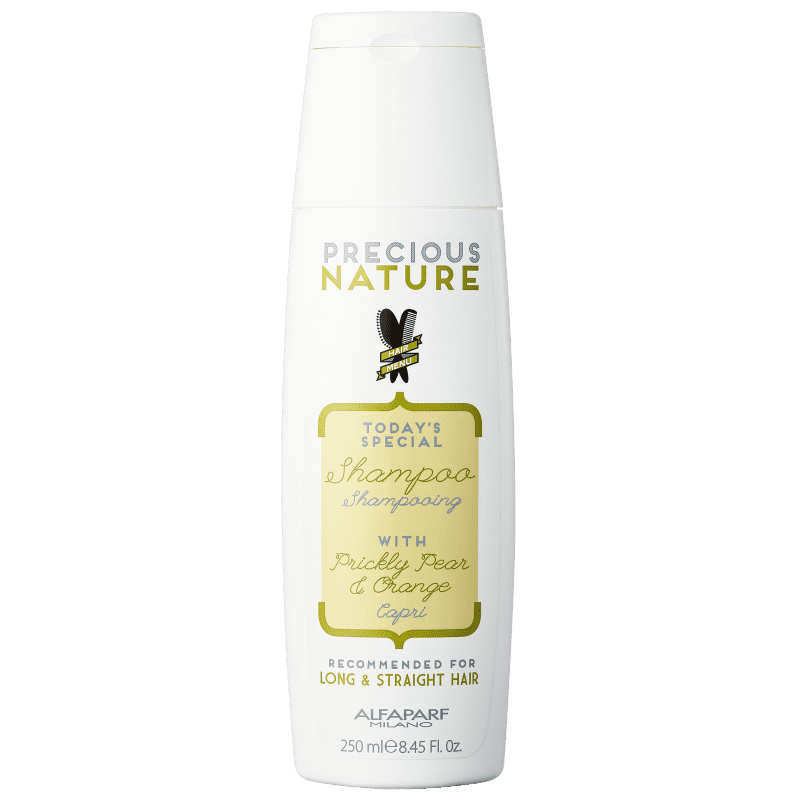 Alfaparf Precious Nature Prickly Pear & Orange - Shampoo sem Sulfato 250ml