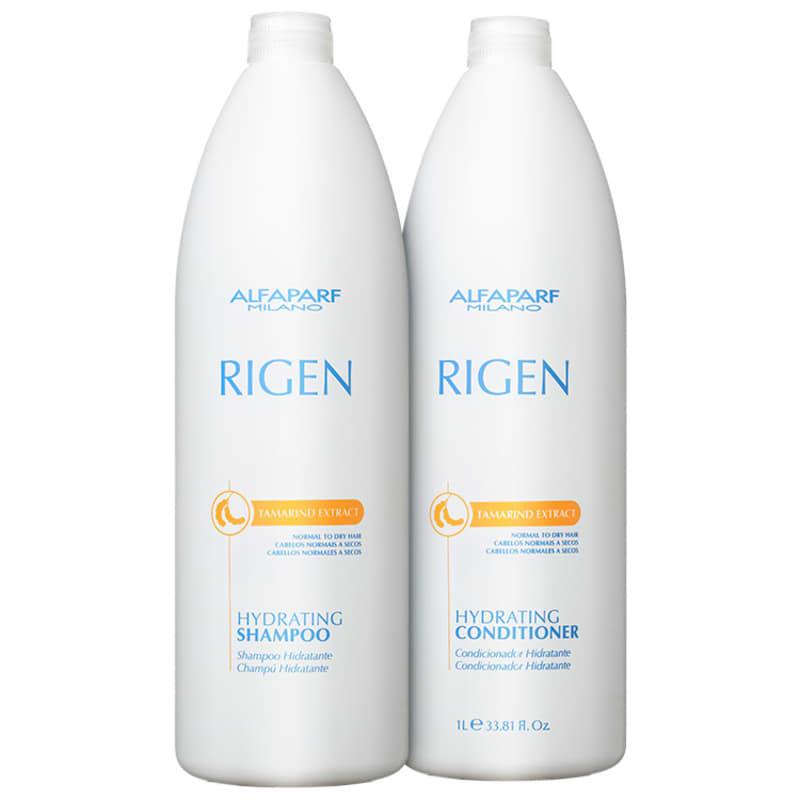 Kit Alfaparf Rigen Tamarind Extract Hydrating Salon (2 Produtos)