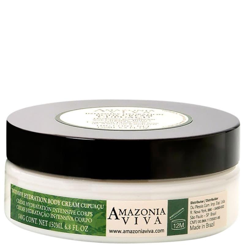 Amazonia Viva Intensive Hydration Body Cream Cupuaçu - Hidratante Corporal 150ml